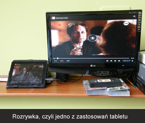 tablet do rozrywki i oglądania filmów
