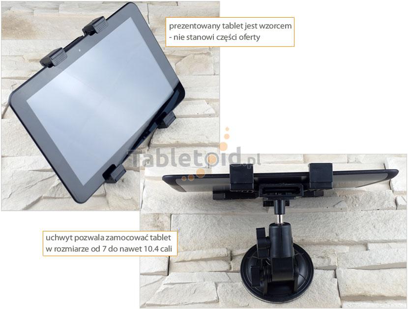 uchwyt samochodowy na tablet 7-10.4 cali