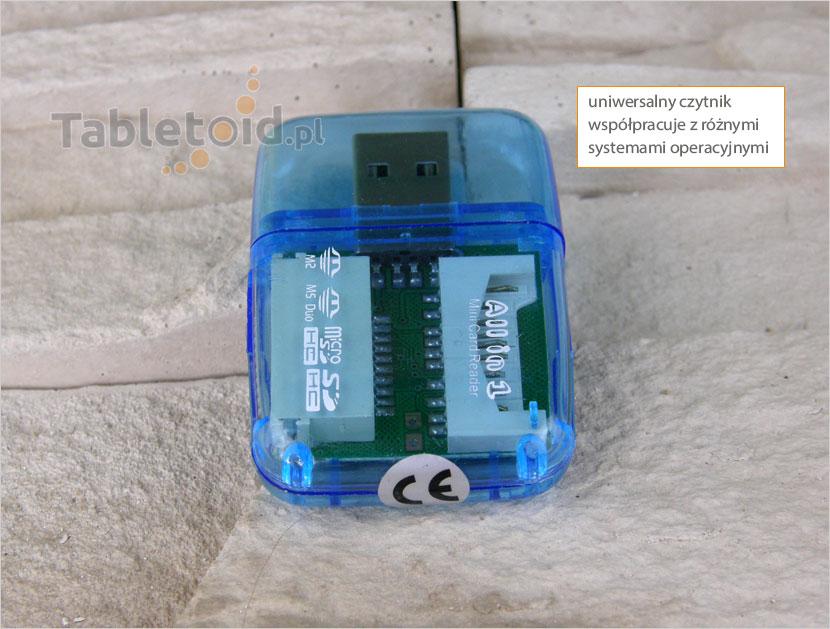 uniwersalny czytnik kart na USB