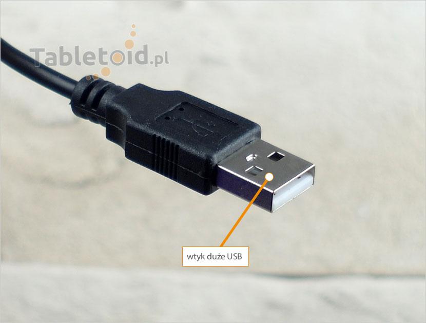 wtyk zwykłe USB