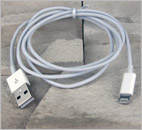 Kabel: USB -> New iPad (Złącze Lightning)