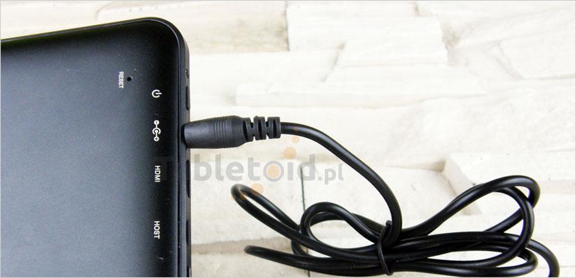 Ładowarka do tableta - 5V 2A - wtyk 3,5 mm