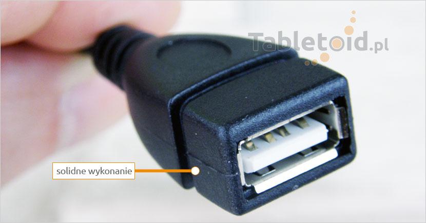 Przejściówka USB do tableta