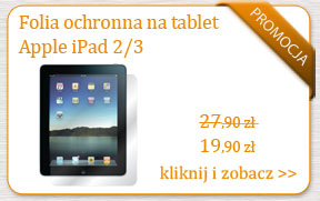 Folia poliwęglanowa na tableta Apple iPad 2 lub 3