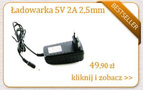 Zasilacz do tabletów 5V 2A 2000mA