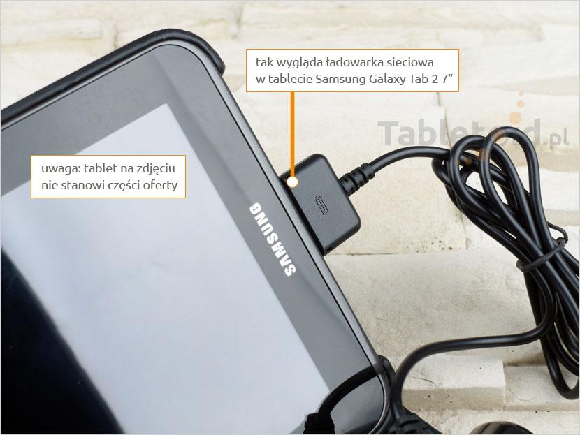 Ładowarka 5V 2A w tablecie Samsung 7-cali