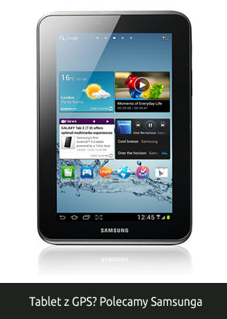 Tablet Samsung z GPS
