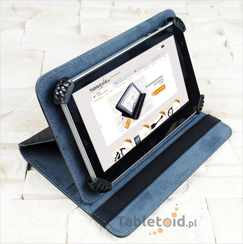 Wydajny tablet z dużą ilością pamięci RAM w pokrowcu