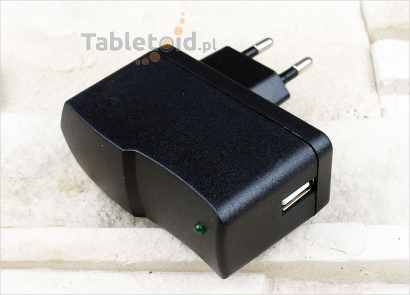 Ładowarka do tabletu - port USB 5V 2A