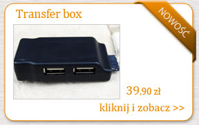 Przejściówka - adapter Transfer box Manta Mid 04