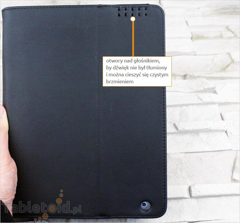 Otwory nad głośnikiem tabletu Apple iPad 2, 3, 4