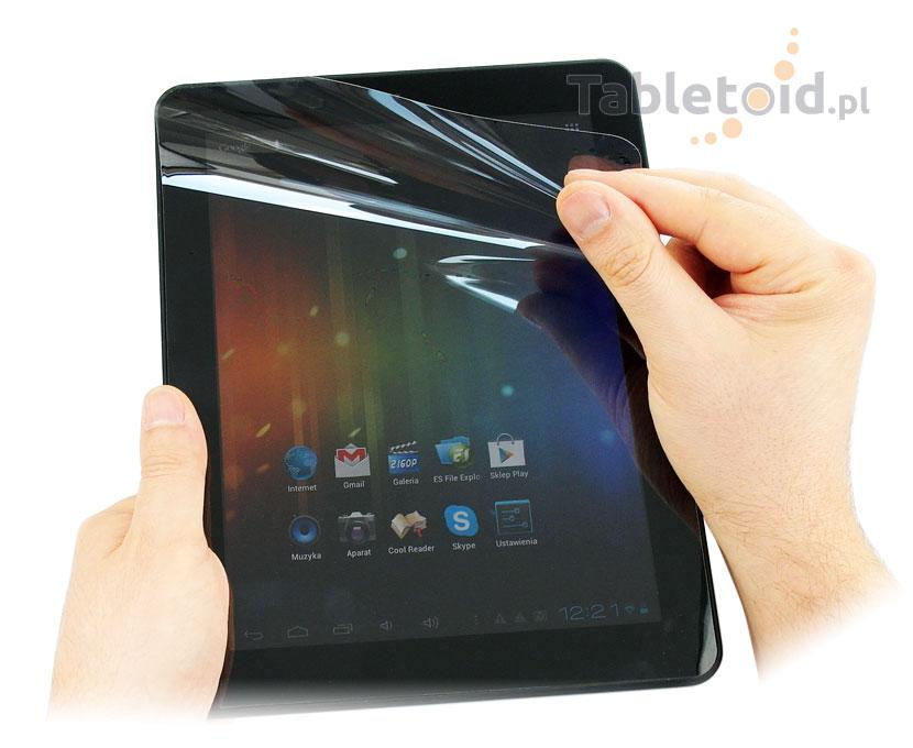 Folia do tabletu Fun Tab 10.1 ściereczki gratis