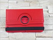 Dedykowany pokrowiec do tabletu Samsung Galaxy Tab 3 8″ – czerwony, obrotowy, dopasowany