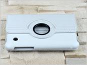 Dedykowany pokrowiec do tabletu Samsung Galaxy Tab 2 7″ – biały, obrotowy, dopasowany