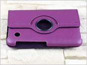Dedykowany pokrowiec do tabletu Samsung Galaxy Tab 2 7″ – fioletowy, obrotowy, dopasowany