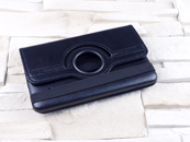 Dedykowany pokrowiec do tabletu Samsung Galaxy Tab 4 7.0″ – czarny, obrotowy, dopasowany