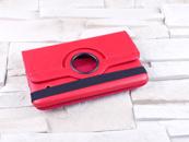 Dedykowany pokrowiec do tabletu Samsung Galaxy Tab 4 7.0″ – czerwony, obrotowy, dopasowany