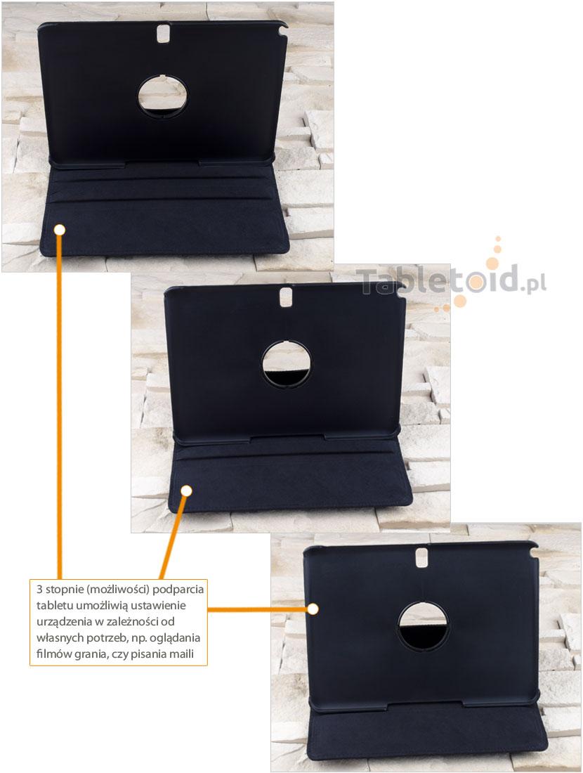 stopnie nachylenia futerału do tabletu Samsung Galaxy Tab Pro 10.1