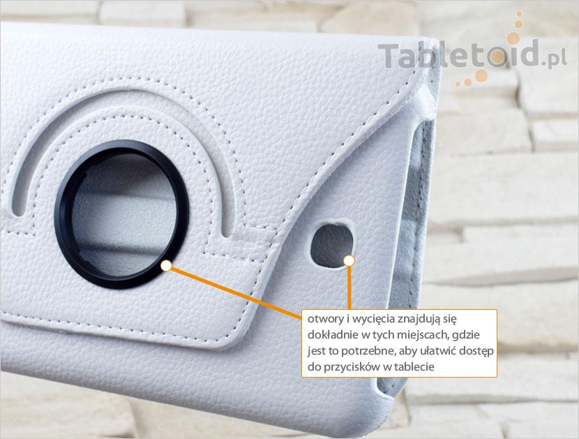 Wycięcia w tablecie Samsung Galaxy 3 7.0