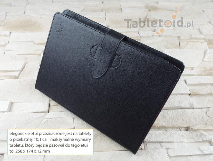 pokrowiec klawiaturą Bluetooth do tabletów 10.1 cali