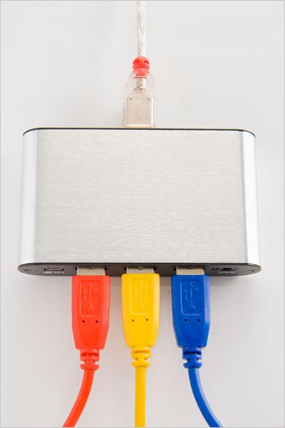 Hub USB do tabletu