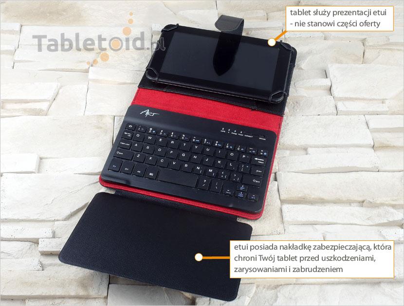 pokrowiec do tabletu 7 cali z klawiaturą bluetooth