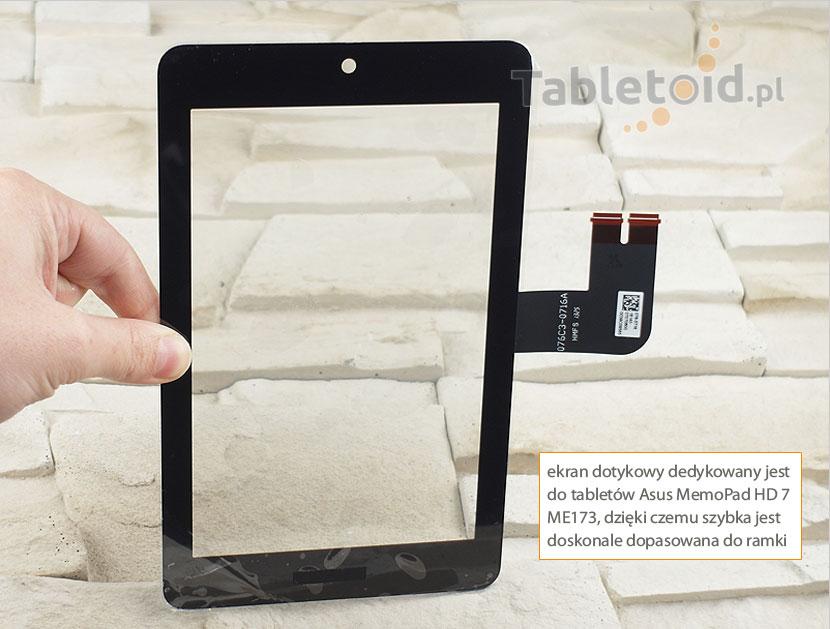 ekran dotykowy do tabletu Asus MemoPad HD 7 ME173