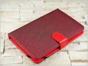 Czerwone etui z klawiaturą do tabletu 7.0