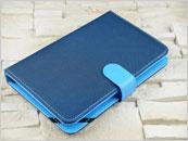 Niebieskie etui z klawiaturą do tabletu 7.0