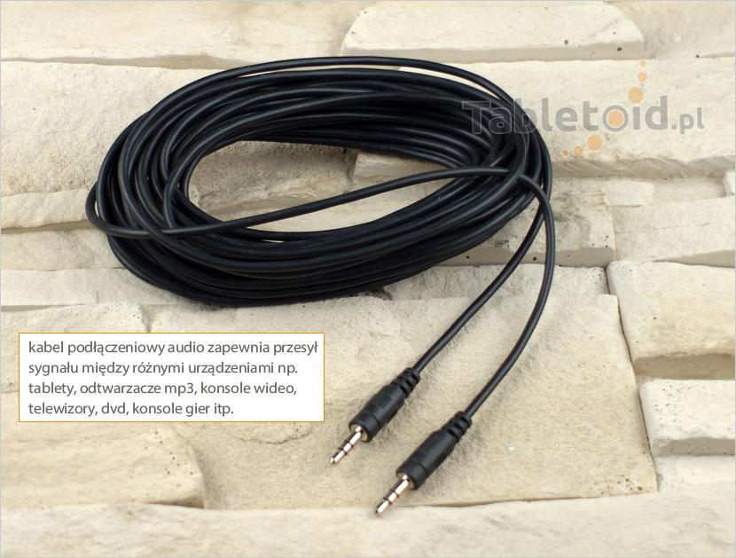 kabel podłączeniowy audio 10m
