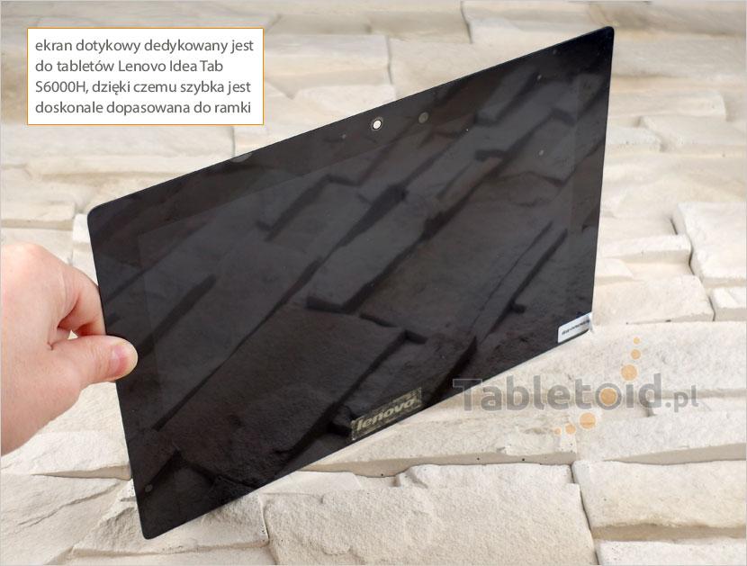 Ekran dotykowy z matrycą do tabletu Lenovo Idea Tab S6000H