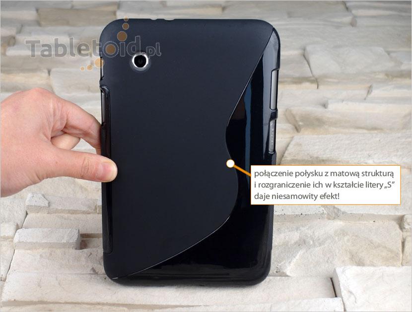 silikonowe etui  do tabletu Samsung Galaxy Tab 2 7.0