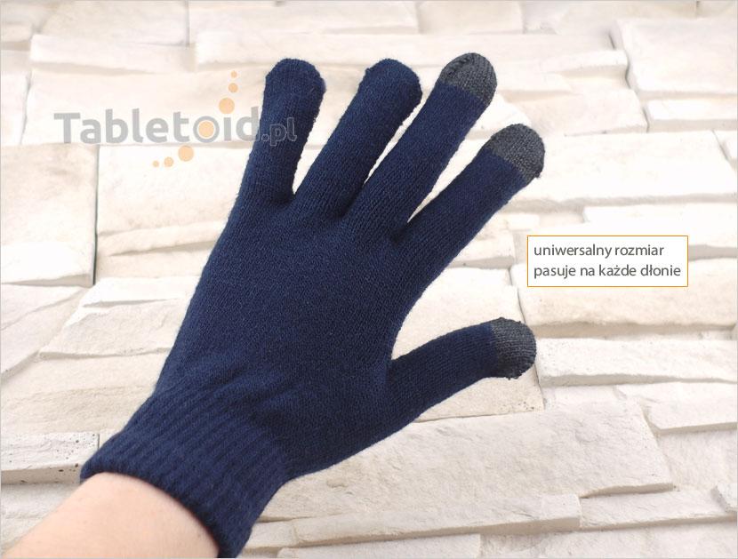 uniwersalny rozmiar rękawiczek