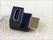 Łącznik kabli HDMI 90 stopni