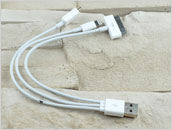 Adapter: wtyk USB do micro USB + iPad 1,2,3,4