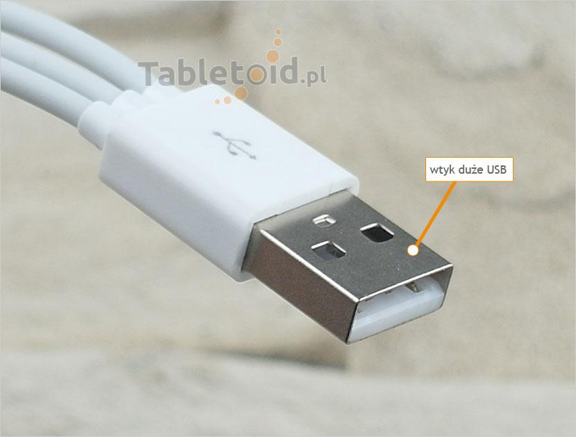 wtyk duże USB