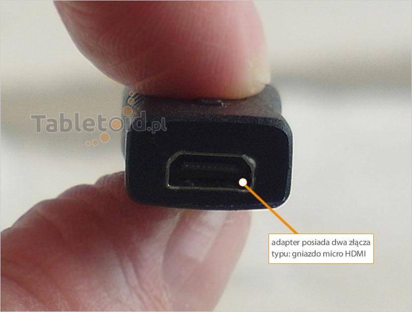 gniazdo micro HDMI