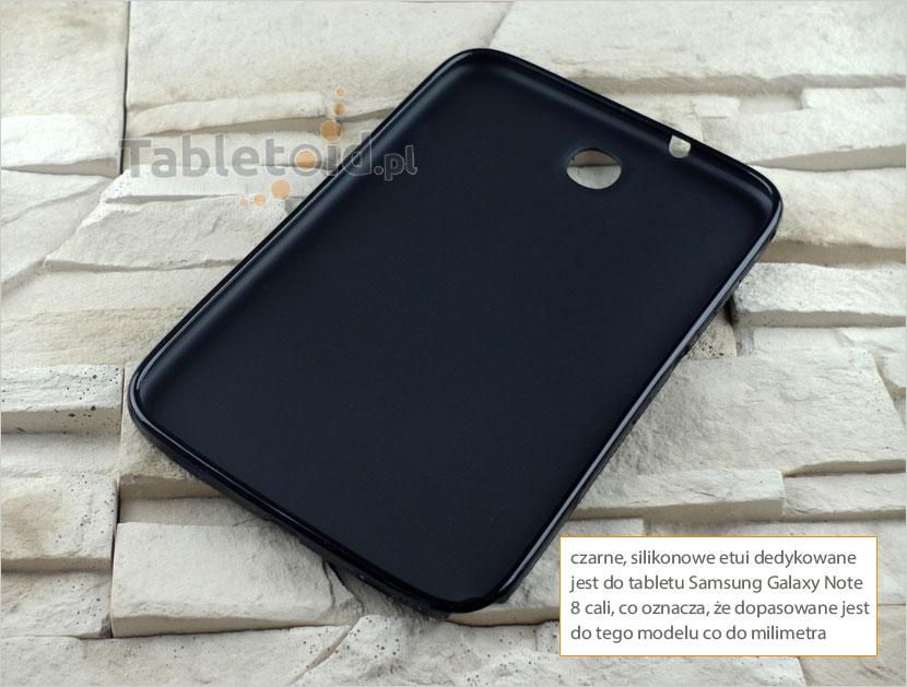 silikonowego plecki do tabletu Samsung Galaxy Note 8 cali