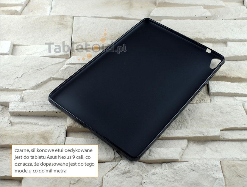 silikonowego plecki do tabletu Asus Nexus 9 cali