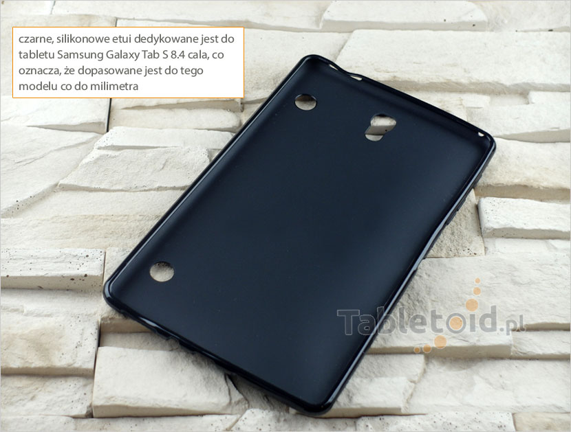 silikonowe plecki do tabletu Samsung Galaxy Tab S 8.4