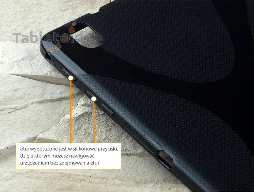 silikonowe przyciski w etui