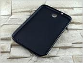Dedykowany, silikonowy pokrowiec do tabletu Samsung Galaxy Note 8″ – czarny, obrotowy, dopasowany