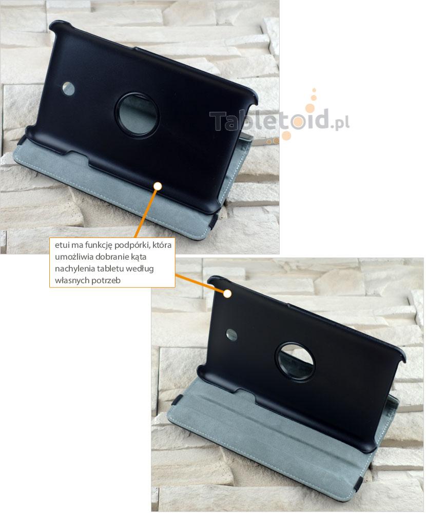 stopnie nachylenia etui do tabletu Asus Fonepad 7 ME372CG