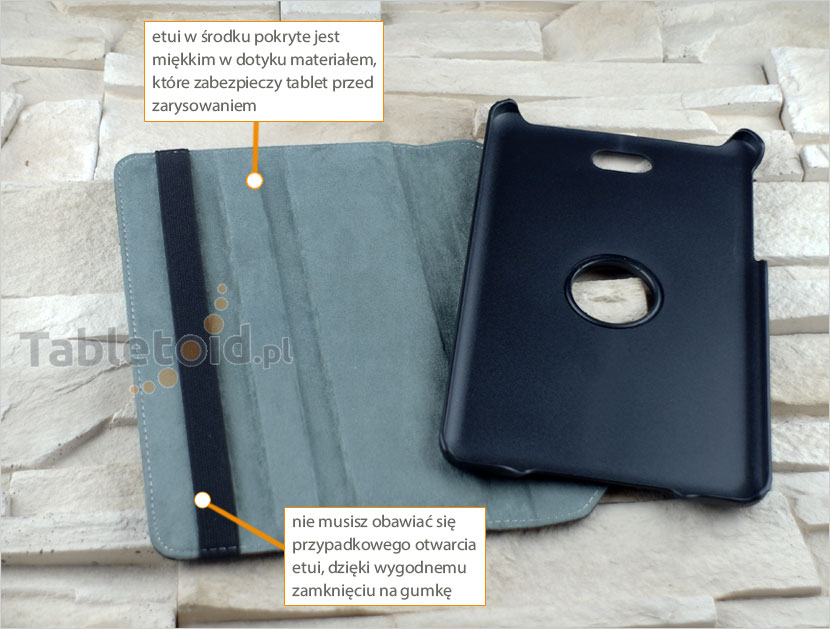 dedykowany pokrowiec na tablet Dell Venue 8 3840