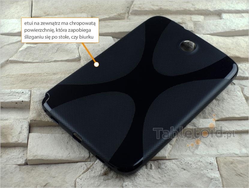 tylna ścianka silikonowego etui Samsung Galaxy Note 8 cali