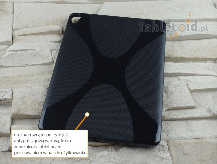 tylna ścianka silikonowego etui do Asus Nexus 9 cali