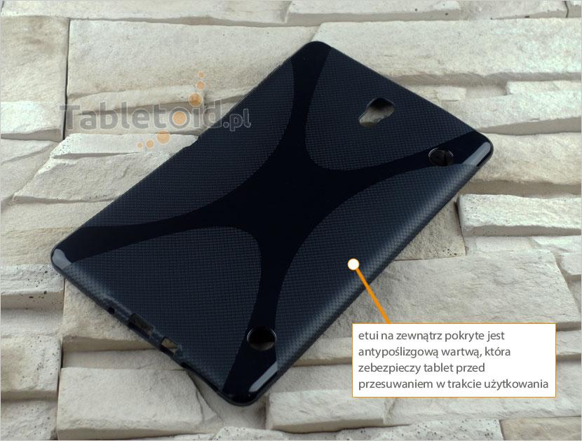 tylna ścianka etui do tabletu Samsung Galaxy Tab S 8.4