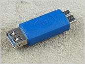 Przejściówka: wtyk micro USB 3.0 -> gniazdo USB 3.0
