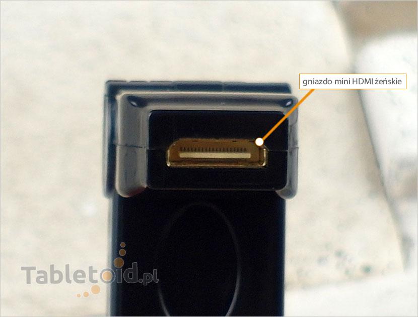 gniazdo mini HDMI