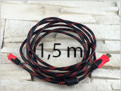 Kabel mini HDMI do tableta 1.5m